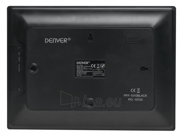 Skaitmeninis foto rėmelis Denver PFF-1010 black Paveikslėlis 3 iš 5 310820152349