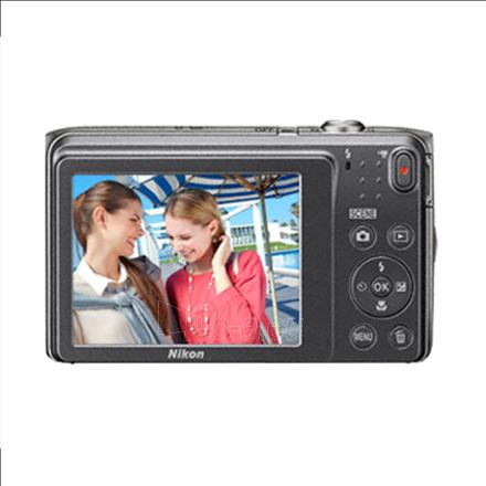 "Skaitmeninis fotoaparatas Nikon Coolpix A300 Silver/20.1Mpixels,NIKKOR 5x,2.7"" LCD,ISO 80-1600,Support SD/SDHC/SDXC,Li-ion batt. Paveikslėlis 2 iš 2 310820029600"