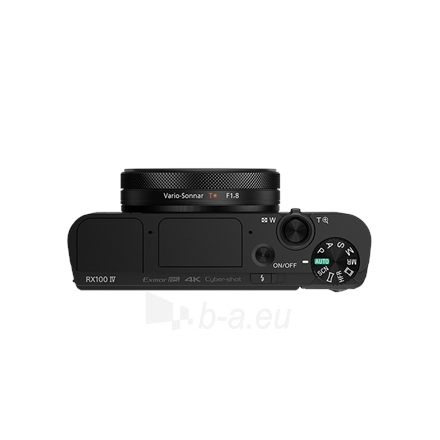 Sony DSC RX100IV Black Paveikslėlis 10 iš 16 250222021748