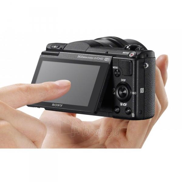 Skaitmeninis veidrodinis fotoaparatas ILCE-5100LB Paveikslėlis 3 iš 4 310820098188
