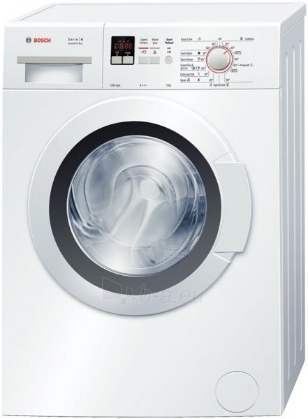 Skalbimo mašina Bosch WLG24160BY Paveikslėlis 1 iš 1 250115001078
