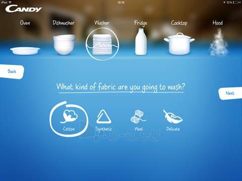 Washing machine Candy GSF 138TWC3/1-S Paveikslėlis 2 iš 2 250115001250