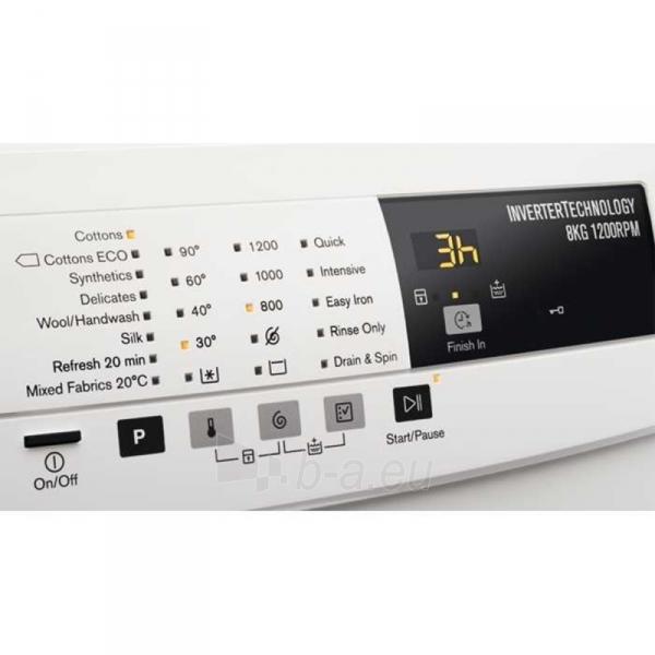 Skalbimo mašina ELECTROLUX EWF1284BW Paveikslėlis 2 iš 2 310820016259