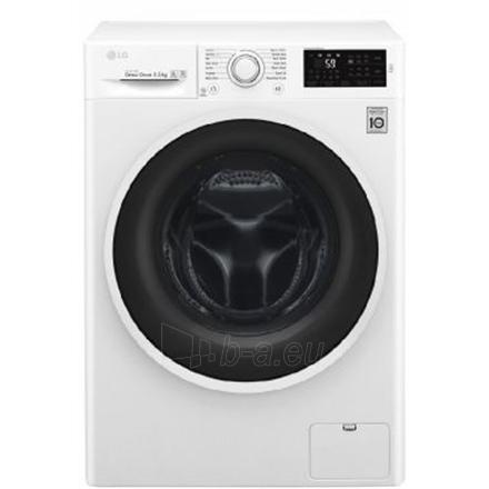 Washing machine LG Washing Machine F0J6WN0W Front loading, Washing capacity 6.5 kg, 1000 RPM, Direct drive, A+++, Depth 44 cm, Width 60 cm, White, Motor type Direct drive Paveikslėlis 1 iš 2 310820081209