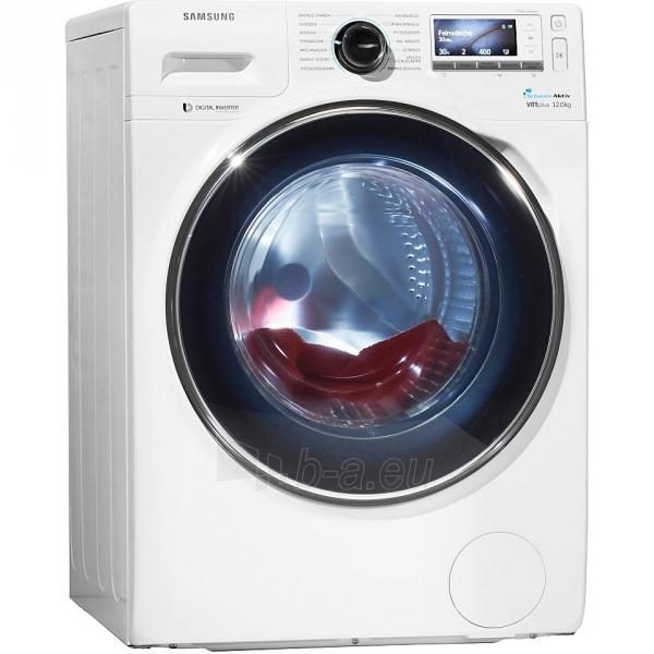 Washing machine SAMSUNG WW12H8400EW/LE Paveikslėlis 1 iš 1 310820016291