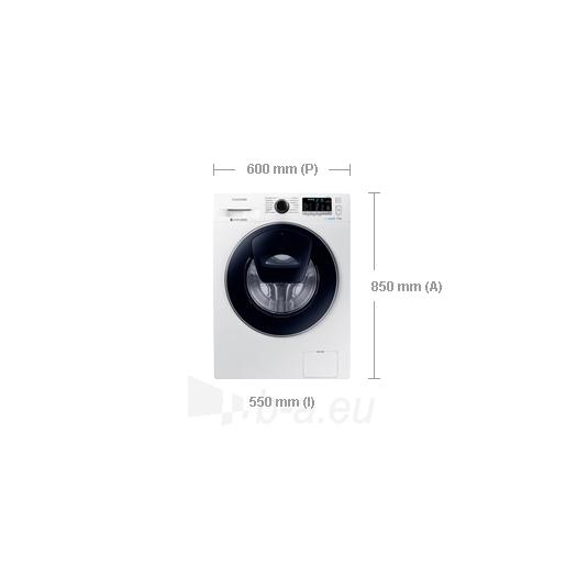 Veļas mašīna Samsung WW80K5210UW/LE Paveikslėlis 2 iš 2 250115001338