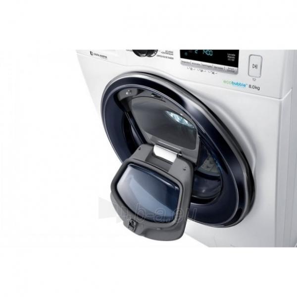 Skalbimo mašina Samsung WW80K6414QW/LE Paveikslėlis 3 iš 3 310820012230