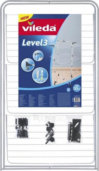 Skalbinių džiovyklė Vileda Level 3 Paveikslėlis 2 iš 3 310820145726