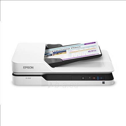 Epson WorkForce DS-1630 Flatbed, Document Scanner Paveikslėlis 2 iš 2 310820047366