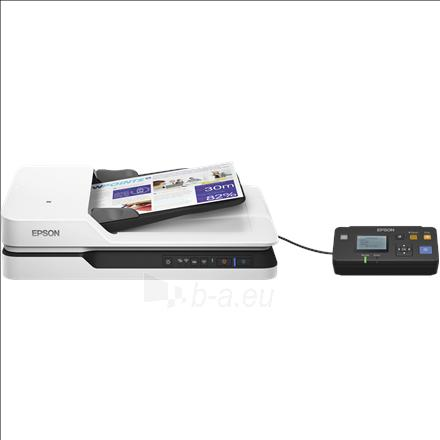 Epson WorkForce DS-1660W Flatbed, Document Scanner Paveikslėlis 1 iš 2 310820047367
