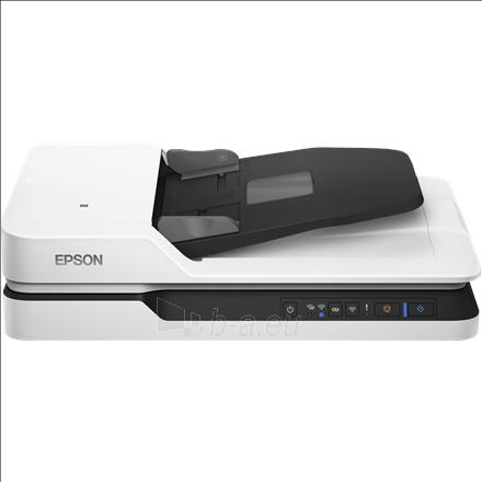 Epson WorkForce DS-1660W Flatbed, Document Scanner Paveikslėlis 2 iš 2 310820047367