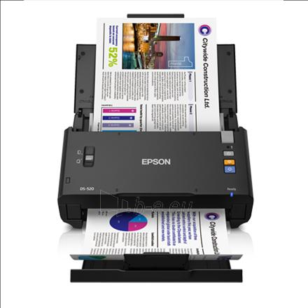 Epson WorkForce DS-520 Color Document Scanner Paveikslėlis 1 iš 3 250253300334