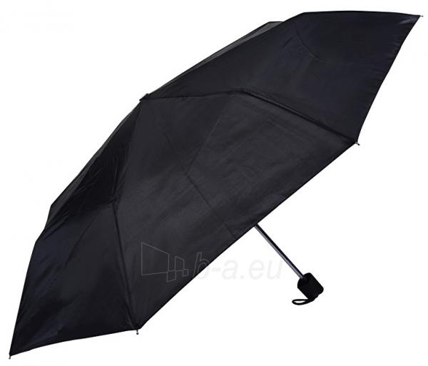 Skėtis Blooming Brollies Foldable Umbrella Perletti Basics Collection 12247 Black Paveikslėlis 1 iš 2 310820166606