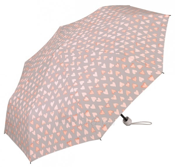 Skėtis Esprit Ladies Folding Umbrella with Super Mini Water Color Heart s Cream Pink Paveikslėlis 1 iš 4 310820172044