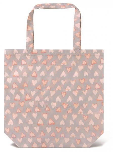 Skėtis Esprit Ladies Folding Umbrella with Super Mini Water Color Heart s Cream Pink Paveikslėlis 2 iš 4 310820172044
