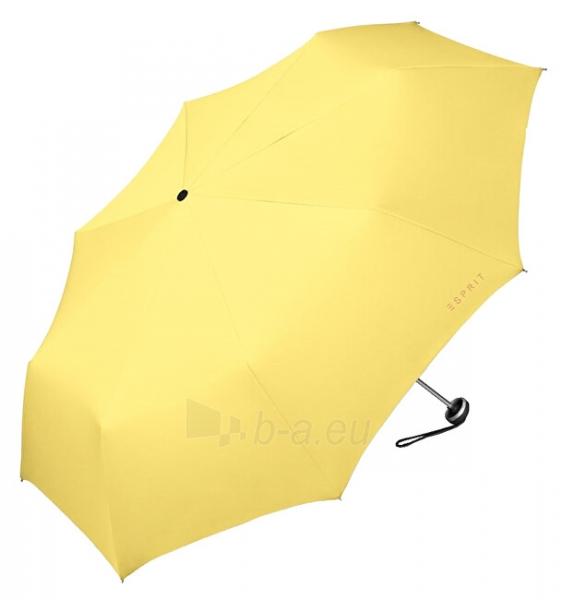 Skėtis Esprit Mini Alu Light Yellow Cream Paveikslėlis 1 iš 2 310820213859