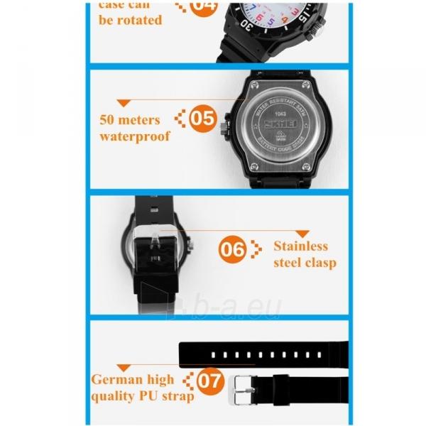 SKMEI AD1043C Kids Black Vaikiškas laikrodis Paveikslėlis 2 iš 4 310820105384