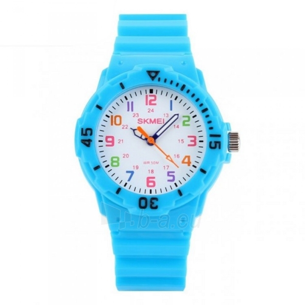 SKMEI AD1043C Kids Blue Vaikiškas laikrodis Paveikslėlis 1 iš 4 310820105388