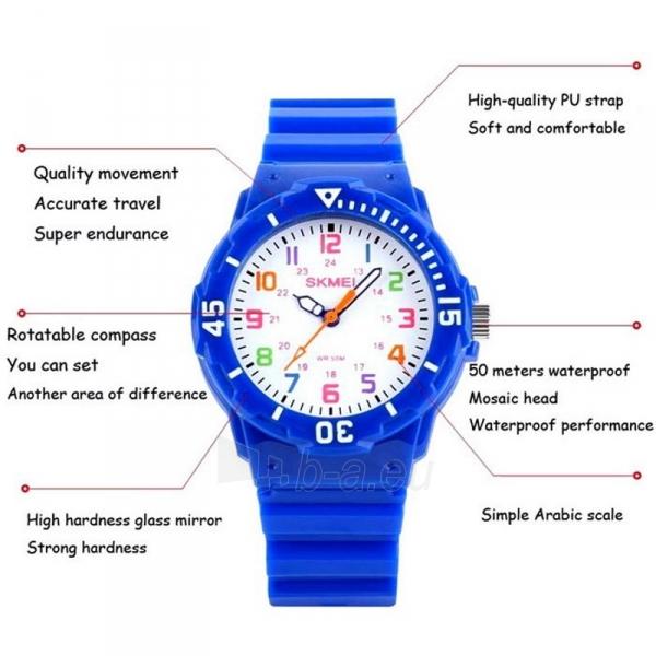 SKMEI AD1043C Kids Dark Blue Vaikiškas laikrodis Paveikslėlis 5 iš 6 310820105387