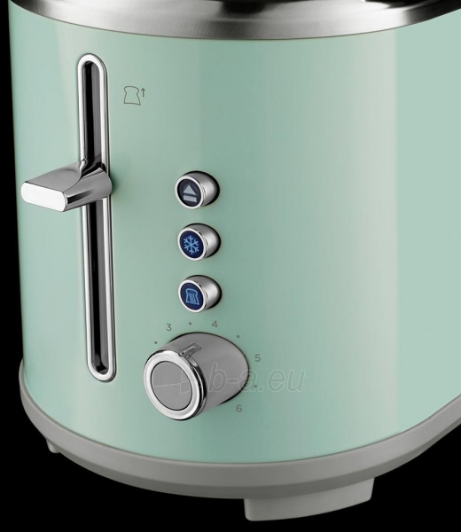 Skrudintuvas Toaster Russell Hobbs 25080-56 Bubble   soft green Paveikslėlis 3 iš 4 310820158409