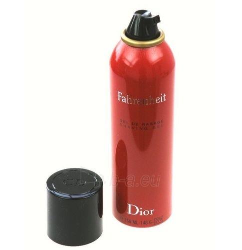 Skutimosi putos Christian Dior Fahrenheit Shaving gel 150ml Paveikslėlis 1 iš 1 250881100033