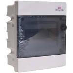 Skydelis modul. įleidžiamas, 8mod., IP40, plastikinis, tams. dur., be spynelės, ECM, ETI 01101010 Paveikslėlis 1 iš 1 222982100099