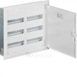 Skydelis modul. įleidžiamas, 72mod., 500x550x110mm, IP30, plastikinis, met. dur., be spynelės, Hager FW32US2 Paveikslėlis 1 iš 1 222982100097