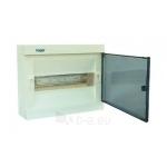 Skydelis modul. paviršinis, 12mod., IP40, plastikinis, skaid. dur., be spynelės, Hager VS12TA Paveikslėlis 1 iš 1 222982100108