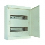 Skydelis modul. paviršinis, 24mod., IP40, plastikinis, balt. dur., be spynelės, Hager VS24PA Paveikslėlis 1 iš 1 222982100126