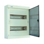 Skydelis modul. paviršinis, 24mod., IP40, plastikinis, skaid. dur., be spynelės, Hager VS24TA Paveikslėlis 1 iš 1 222982100127