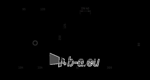 Šlapiojo rotoriaus siurblys Stratos MAXO 40/0,5-12 PN6/10 Paveikslėlis 1 iš 2 310820254331