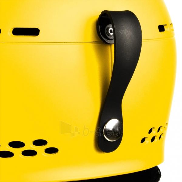 Slidinėjimo šalmas Spokey APEX, geltonas Paveikslėlis 9 iš 9 310820199954