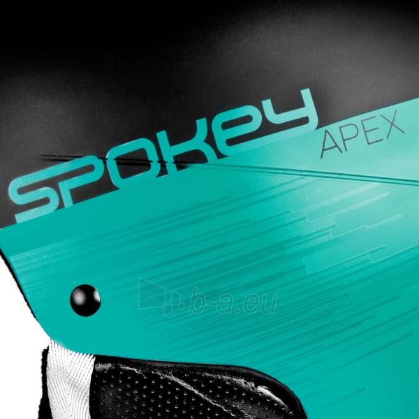 Slidinėjimo šalmas Spokey APEX, mėlynas Paveikslėlis 6 iš 9 310820199955