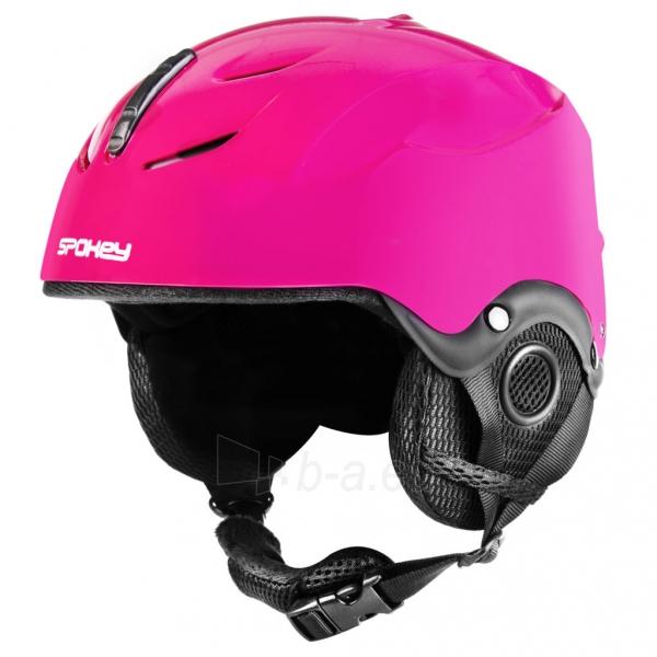 Slidinėjimo šalmas Spokey DIXIE, rožinis Paveikslėlis 1 iš 10 310820199957