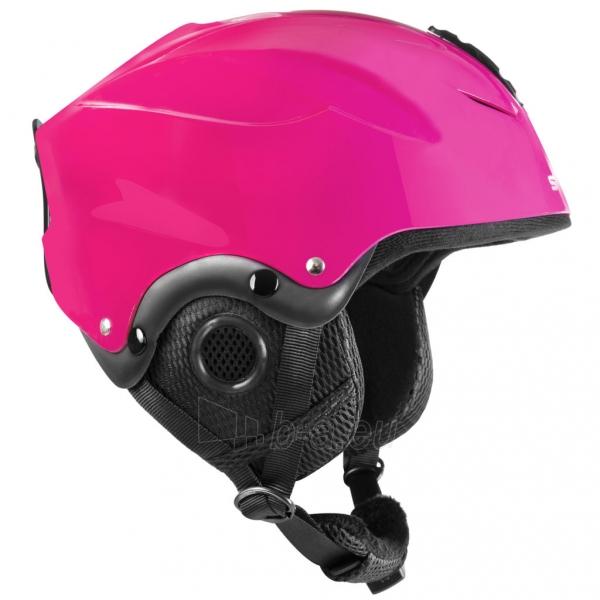 Slidinėjimo šalmas Spokey DIXIE, rožinis Paveikslėlis 9 iš 10 310820199957