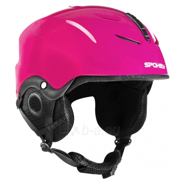 Slidinėjimo šalmas Spokey DIXIE, rožinis Paveikslėlis 7 iš 10 310820199957