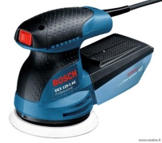 Šlifuoklis Bosch GEX 125-1 AE Professional Paveikslėlis 1 iš 1 310820049514