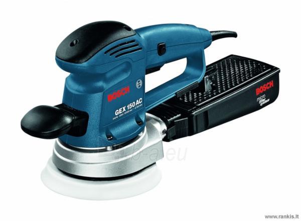 Šlifuoklis BOSCH GEX 150 AC Professional Paveikslėlis 1 iš 1 310820049524