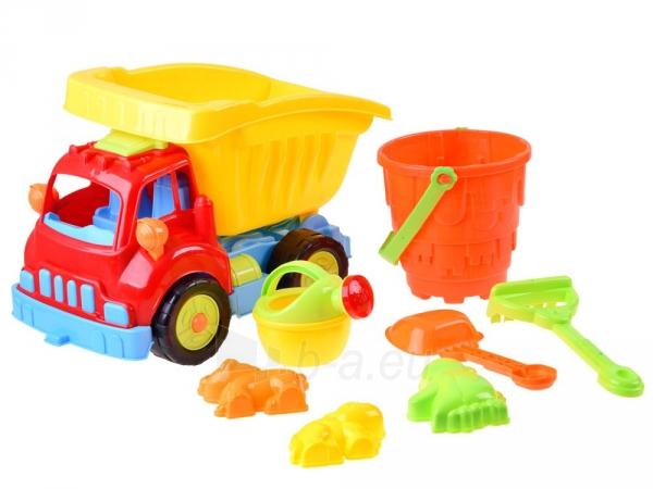 Smėlio žaislų rinkinys su savivarčiu Paveikslėlis 1 iš 1 310820253086