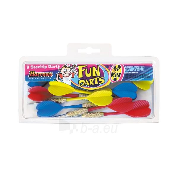 Smiginio strėlyčių rinkinys Fun Darts 1308, 9 vnt Paveikslėlis 1 iš 1 310820012094