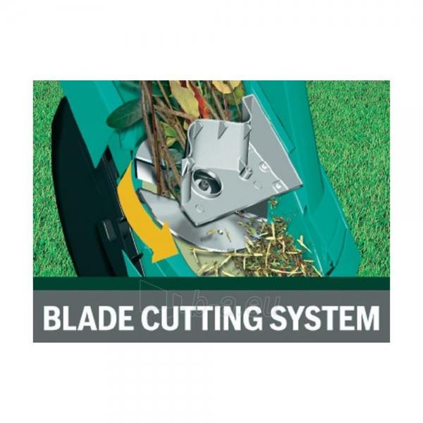 Smulkintuvas Bosch AXT Rapid 2200 Blade Shredder (40 mm Cutting Capacity) Paveikslėlis 4 iš 6 268905000058