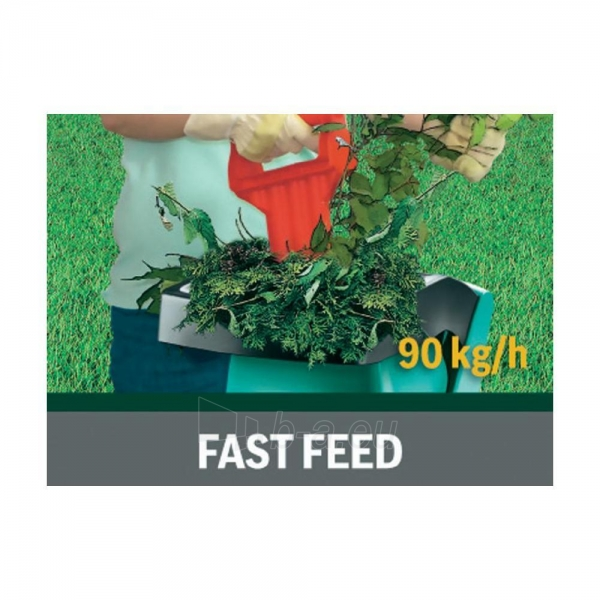 Smulkintuvas Bosch AXT Rapid 2200 Blade Shredder (40 mm Cutting Capacity) Paveikslėlis 6 iš 6 268905000058