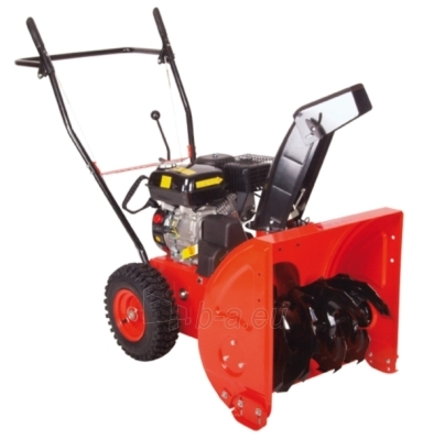 Petrol self-propelled snow plow HECHT 9551