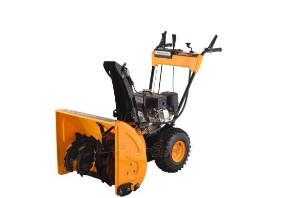 Petrol self-propelled snow plow GardenPro KC624S Paveikslėlis 1 iš 8 268902200069
