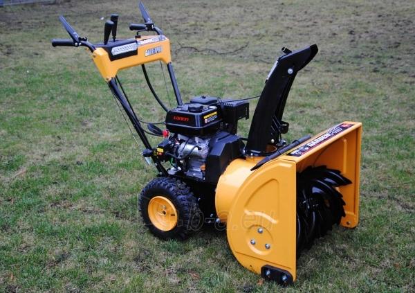 Petrol self-propelled snow plow GardenPro KC624S Paveikslėlis 2 iš 8 268902200069