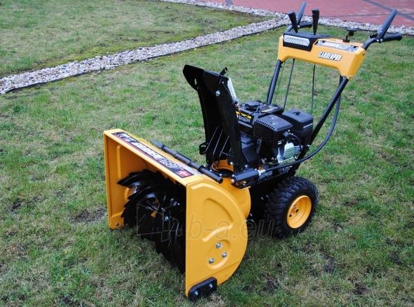 Petrol self-propelled snow plow GardenPro KC624S Paveikslėlis 3 iš 8 268902200069