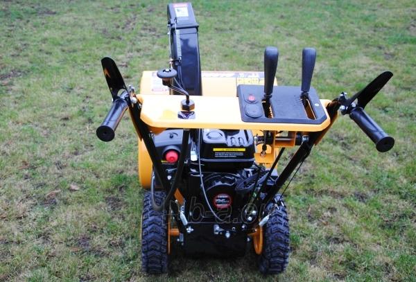 Petrol self-propelled snow plow GardenPro KC624S Paveikslėlis 4 iš 8 268902200069