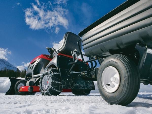 Sodo traktorius su žolės surinkimu CASTELGARDEN XHX 240 (122 cm; 24.0 AG) Paveikslėlis 4 iš 11 264400000046