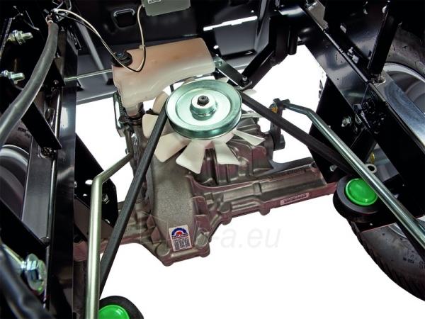 Sodo traktorius su žolės surinkimu CASTELGARDEN XHX 240 (122 cm; 24.0 AG) Paveikslėlis 3 iš 11 264400000046