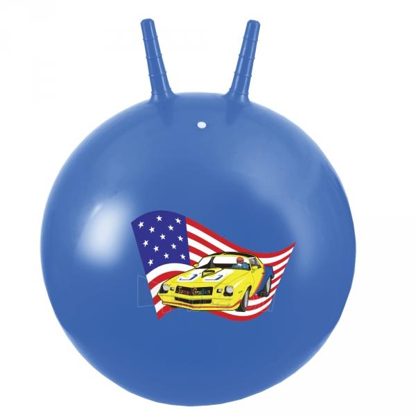 Šokinėjimo kamuolys Spokey NAZCAR 60 CM Paveikslėlis 1 iš 3 310820038388